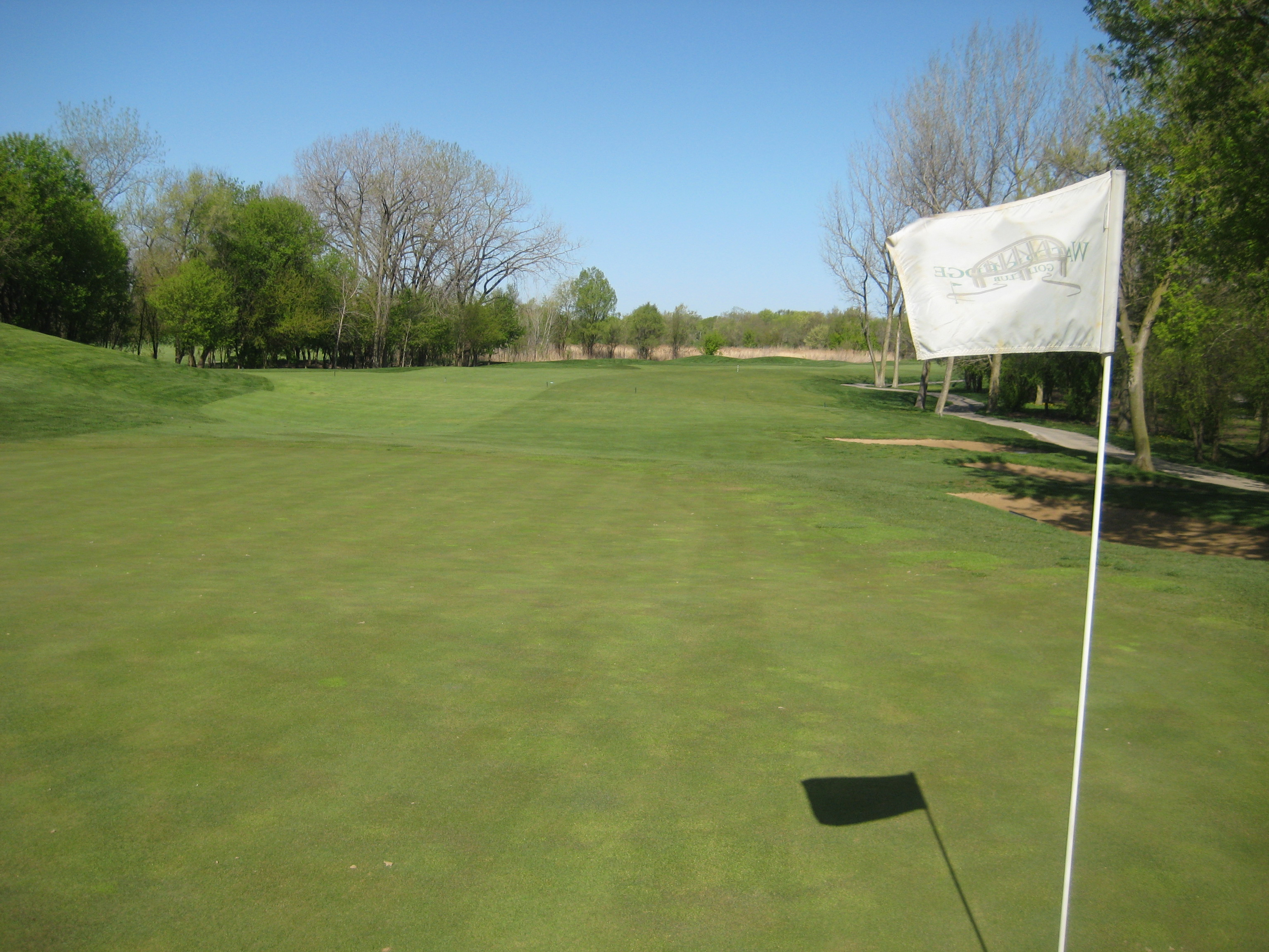 Course golf Waters edge